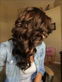 Elegant Dark Brown Hair Color Ideas With Highlights02