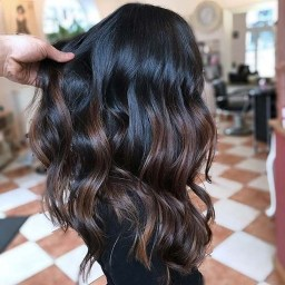 Elegant Dark Brown Hair Color Ideas With Highlights14