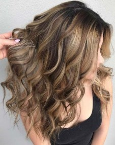 Elegant Dark Brown Hair Color Ideas With Highlights19