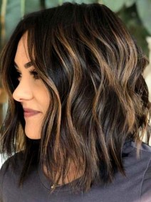 Elegant Dark Brown Hair Color Ideas With Highlights21