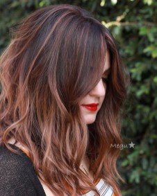 Elegant Dark Brown Hair Color Ideas With Highlights29