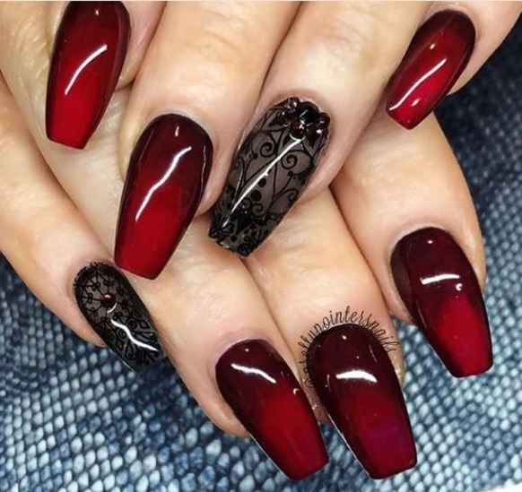 Extraordinary Red Nail Trends Ideas For This Year11