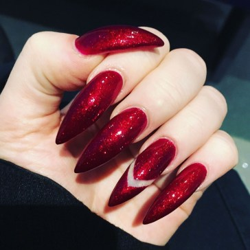 Extraordinary Red Nail Trends Ideas For This Year23