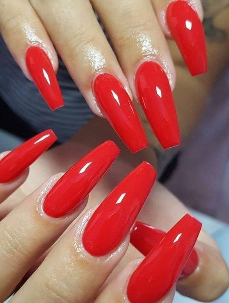 Extraordinary Red Nail Trends Ideas For This Year28