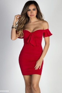 Fascinating Red Dress Ideas06