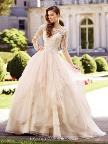 Newest Lace Sweetheart Wedding Dresses Ideas For Spring23
