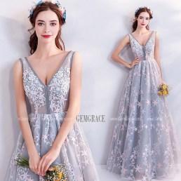 Pretty V Neck Tulle Wedding Dress Ideas For 201918