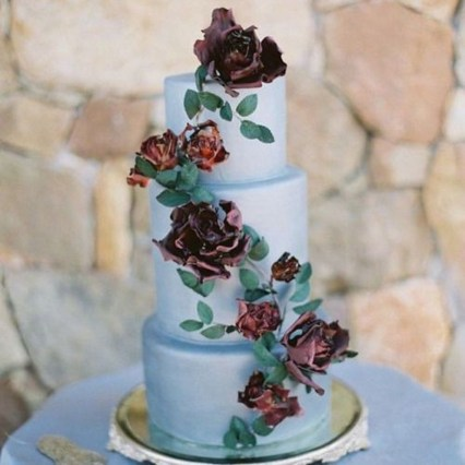 Pretty Wedding Cake Ideas For Old Fashioned34