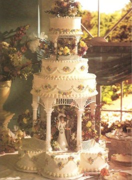 Pretty Wedding Cake Ideas For Old Fashioned44