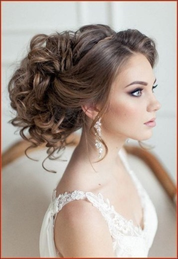 Unique Wedding Hairstyles Ideas For Round Faces48