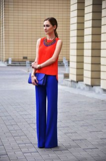 Unusual Orange Outfit Ideas For Women03