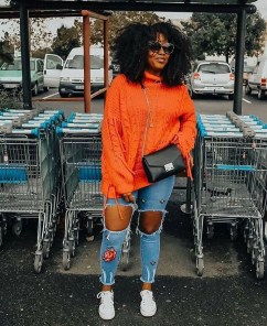 Unusual Orange Outfit Ideas For Women14