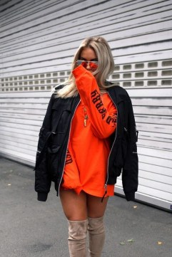 Unusual Orange Outfit Ideas For Women27
