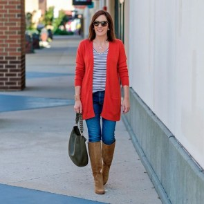 Unusual Orange Outfit Ideas For Women28
