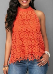Unusual Orange Outfit Ideas For Women30