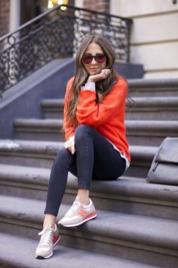 Unusual Orange Outfit Ideas For Women35