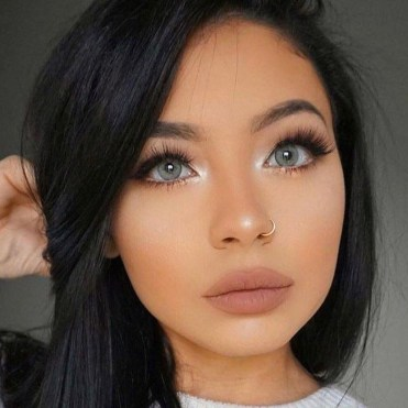 Cute Nose Makeup Ideas For This Year39