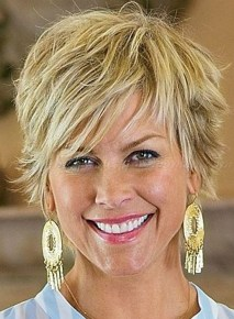 Cute Short Hairstyles Ideas For Women Over 5027
