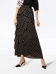 Delicate Polka Dot Maxi Skirt Ideas For Reunion21
