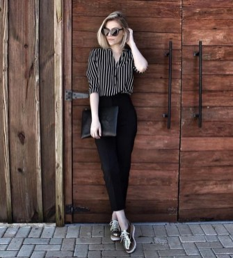Fashionable Work Outfit Ideas To Try Now38