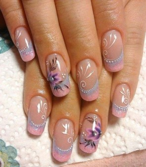 Gorgeous Nail Designs Ideas In Summer For Women14