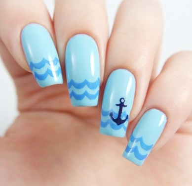 Gorgeous Nail Designs Ideas In Summer For Women41
