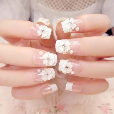 Inspiring Nail Art Ideas For Wedding Party03