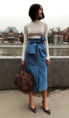 Creative Work Outfits Ideas For Womens24