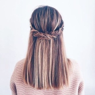 Cute Hair Styles Ideas For School15