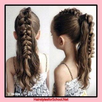 Cute Hair Styles Ideas For School16
