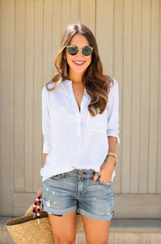 Cute Summer Outfits Ideas For Women You Must Try37