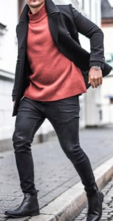 Flawless Men Black Jeans Ideas For Fall12