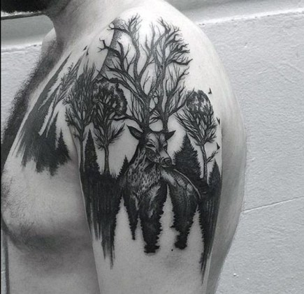 Gorgeous Arm Tattoo Design Ideas For Men That Looks Cool21