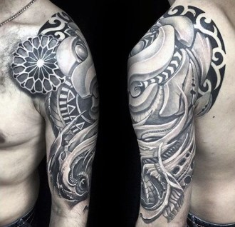Gorgeous Arm Tattoo Design Ideas For Men That Looks Cool25