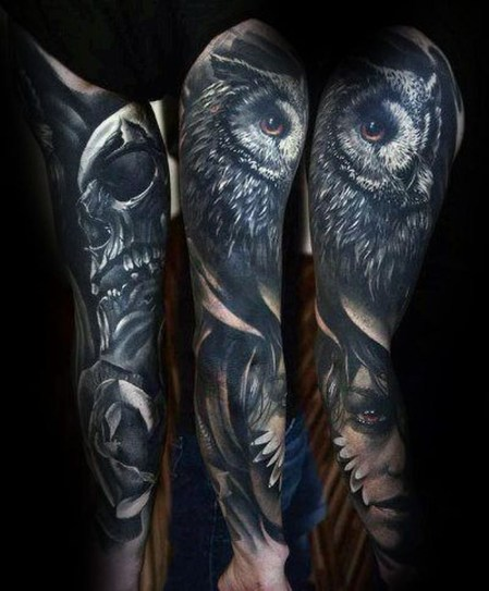 Gorgeous Arm Tattoo Design Ideas For Men That Looks Cool27
