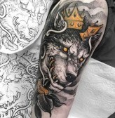 Gorgeous Arm Tattoo Design Ideas For Men That Looks Cool47