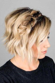Newest Blonde Short Hair Styles Ideas For Females 201909