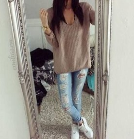 Attractive Sneakers Outfit Ideas For Fall And Winter03