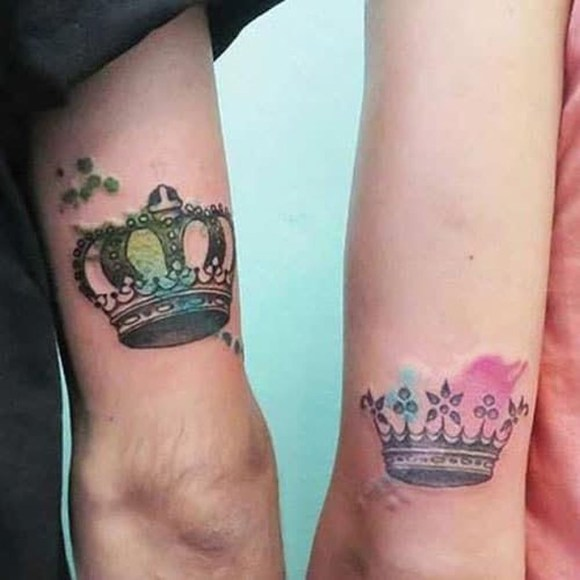 Comfy Crown Tattoos Ideas Youll Need To See36