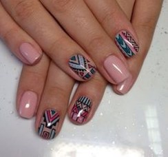 Cozy Aztec Nail Art Designs Ideas You Will Love To Copy08