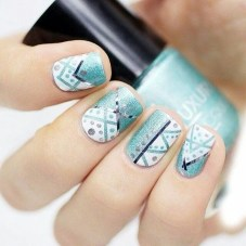 Cozy Aztec Nail Art Designs Ideas You Will Love To Copy17