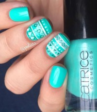 Cozy Aztec Nail Art Designs Ideas You Will Love To Copy38