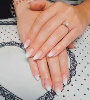 Cute French Manicure Designs Ideas To Try This Season16