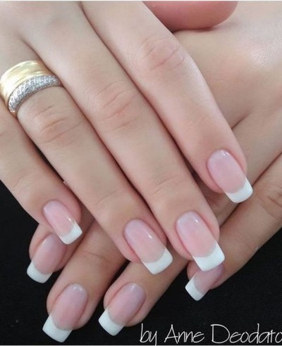 Cute French Manicure Designs Ideas To Try This Season18
