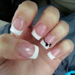 Cute French Manicure Designs Ideas To Try This Season28