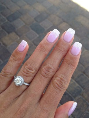 Cute French Manicure Designs Ideas To Try This Season32
