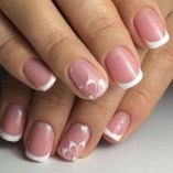Cute French Manicure Designs Ideas To Try This Season40