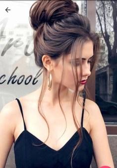 Elegant Brunette Hairstyles Ideas For Lovely Women35