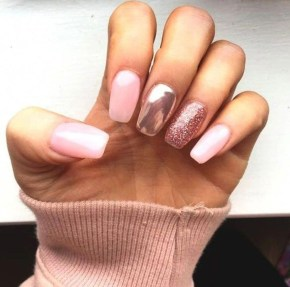 Fashionable Pink And White Nails Designs Ideas You Wish To Try06