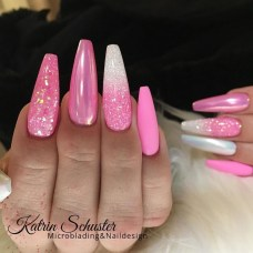 Fashionable Pink And White Nails Designs Ideas You Wish To Try22